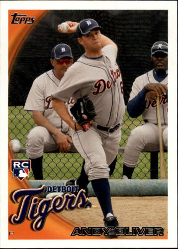 Photo of 2010 Topps Update #US52 Andy Oliver RC