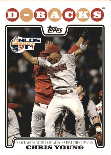 Photo of 2008 Topps #179 Chris B. Young