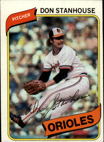 Photo of 1980 Topps #517 Don Stanhouse