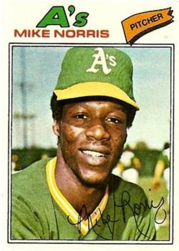 Photo of 1977 Topps #284 Mike Norris