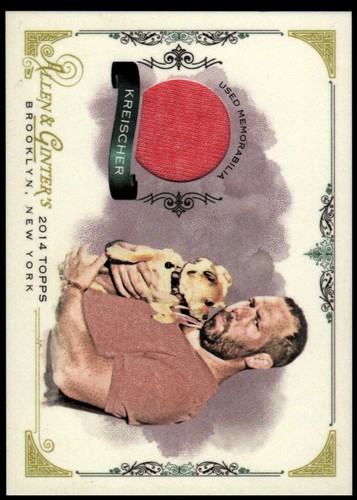 Photo of 2014 Topps Allen and Ginter Relics #FSRBK Bert Kreischer A