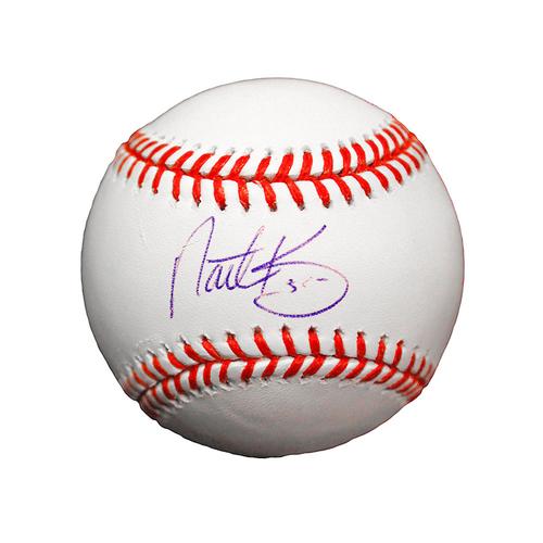 Nathan Karns Autographed Baseball
