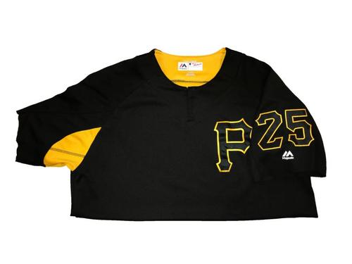 #25 Team-Issued Batting Practice Jersey