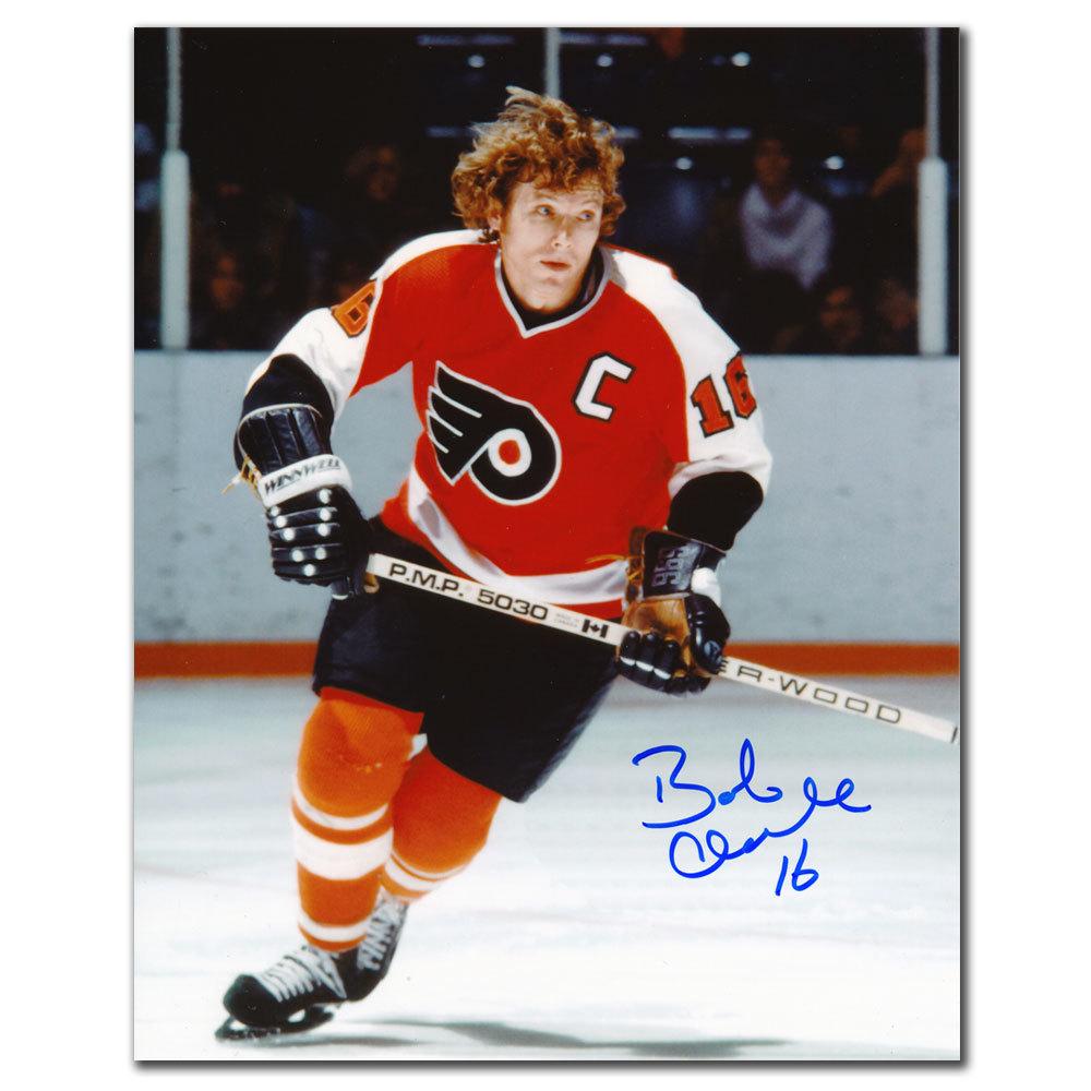 Bobby Clarke Philadelphia Flyers BREAKOUT Autographed 8x10