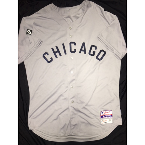 Photo of Harold Baines 2015 Game-Used 1959 Grey Throwback Jersey - Size 50