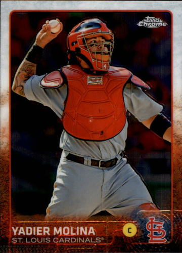 Photo of 2015 Topps Chrome #25 Yadier Molina