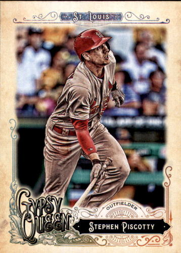 Photo of 2017 Topps Gypsy Queen #170 Stephen Piscotty