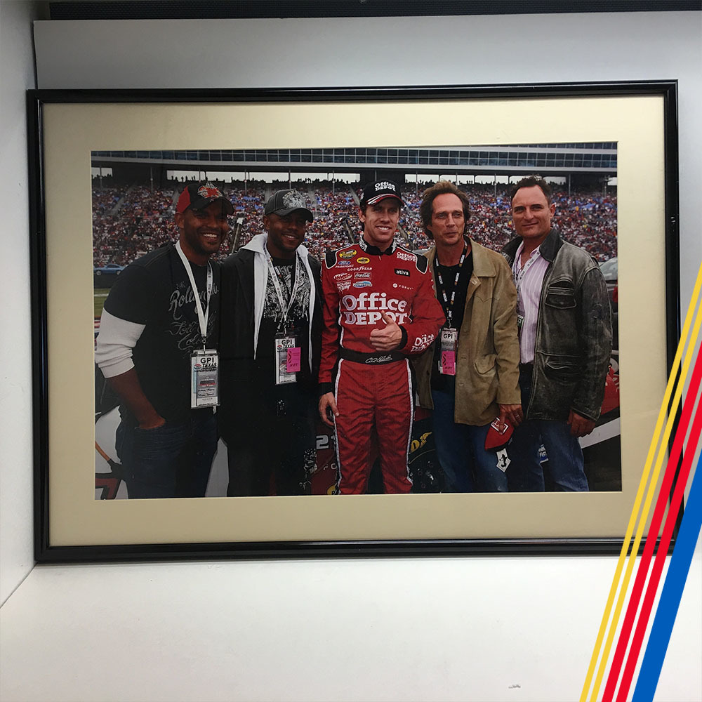 NASCAR's Carl Edwards 2005 Pre-Race Photo at Texas Motor Speedway!