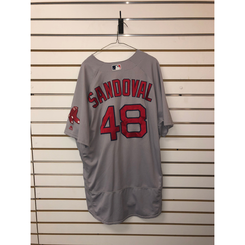 Photo of Pablo Sandoval Team-Issued 2017 Road Jersey