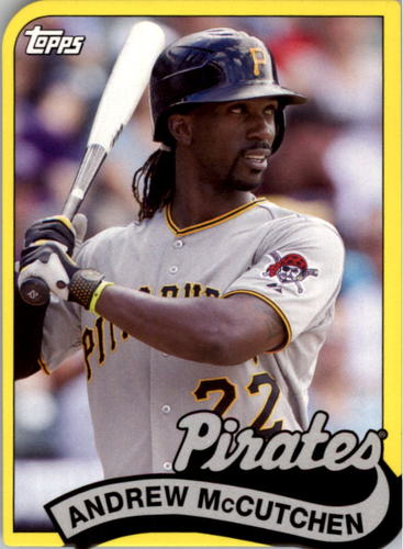 Photo of 2014 Topps '89 Topps Die Cut Minis #TM46 Andrew McCutchen