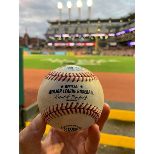 Photo of 2019 MLB Futures Game - Game-Used Baseball: Alec Bohm Single off Matt Manning, Top 4