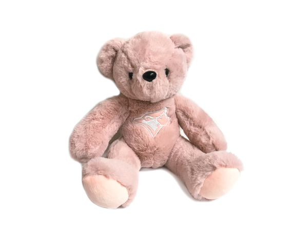 Toronto Blue Jays Soft Dusty Rose Bear by Forever Collectibles