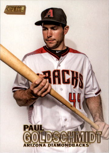 Photo of 2016 Stadium Club Gold #115 Paul Goldschmidt
