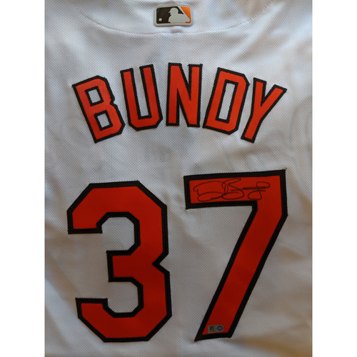 Photo of Dylan Bundy - Home Jersey: Autographed (Size 48)