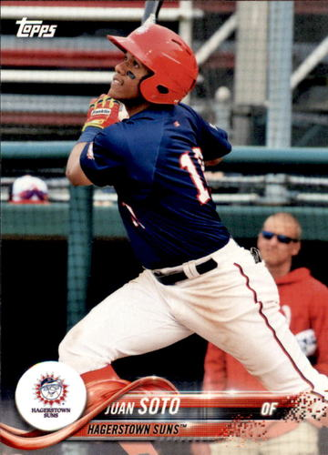 Photo of 2018 Topps Pro Debut #133 Juan Soto