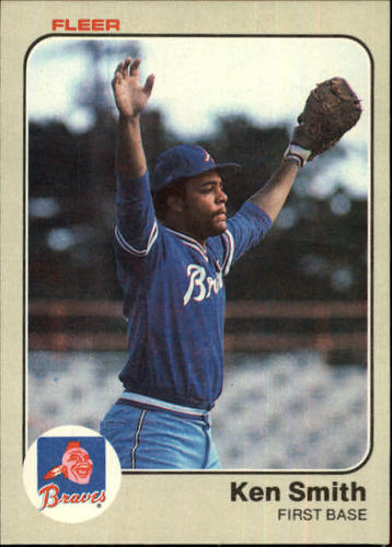 Photo of 1983 Fleer #148 Ken Smith