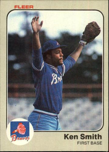 Photo of 1983 Fleer #148 Ken Smith
