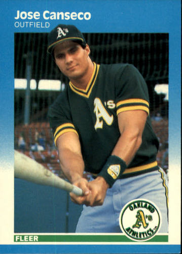 Photo of 1987 Fleer #389 Jose Canseco