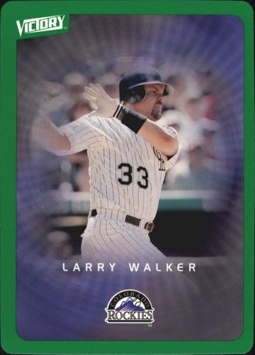 Photo of 2003 Upper Deck Victory Tier 1 Green #33 Larry Walker
