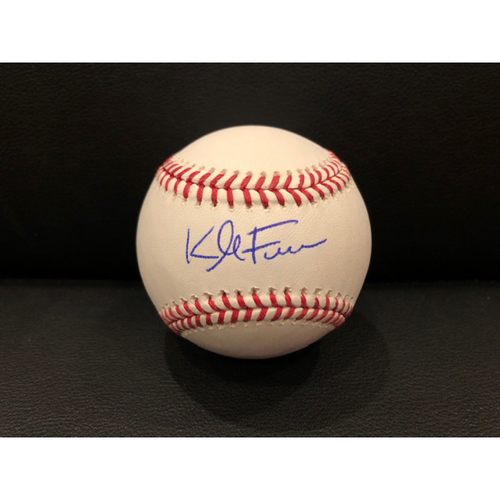 Photo of Reds Authentics: Kyle Farmer -- Autographed Baseball