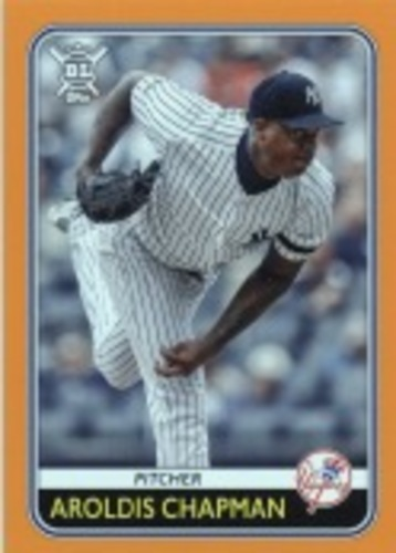 Photo of 2020 Topps Big League Orange #71 Aroldis Chapman