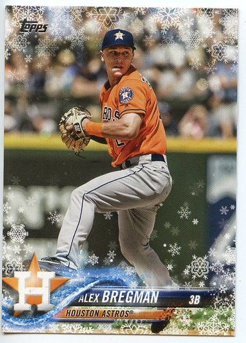 Photo of 2018 Topps Walmart Holiday Snowflake #HMW66 Alex Bregman