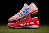 My Cause My Cleats - Patriots Rex Burkhead custom cleats supporting - Team Jack Foundation - Cleats will be autographed
