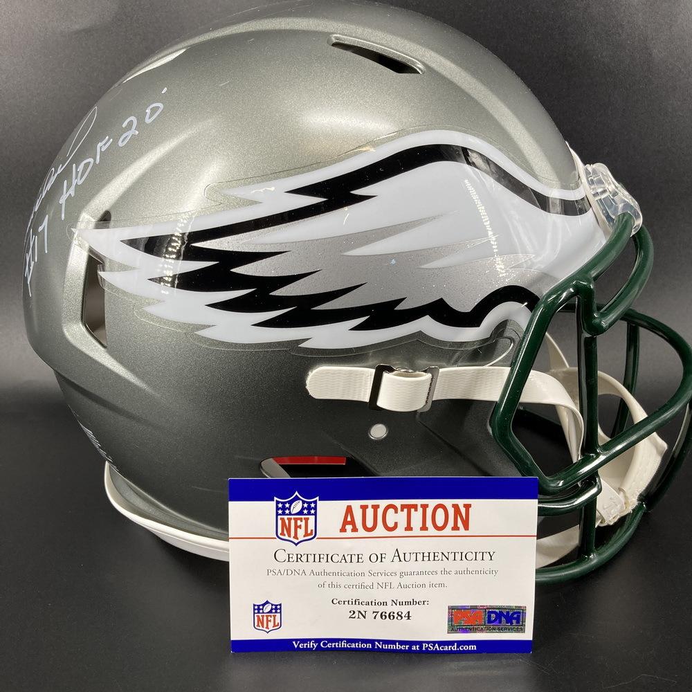 HOF - Eagles Harold Carmichael Signed Authentic Flash Helmet with