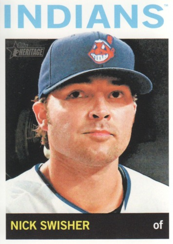 Photo of 2013 Topps Heritage #276 Nick Swisher