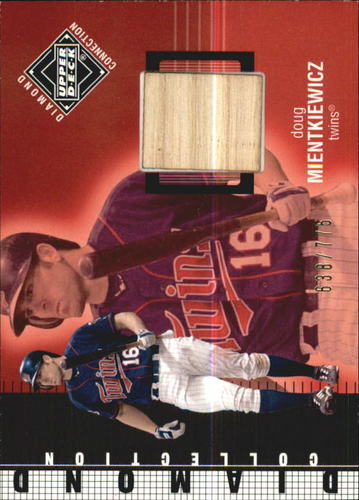 Photo of 2002 Upper Deck Diamond Connection #427 Doug Mientkiewicz DC Bat
