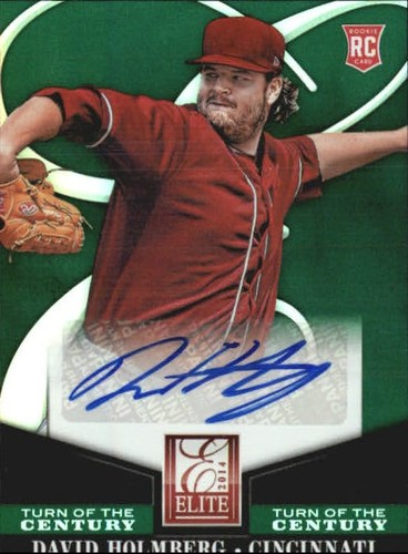 Photo of 2014 Elite Turn of the Century Autographs #71 David Holmberg