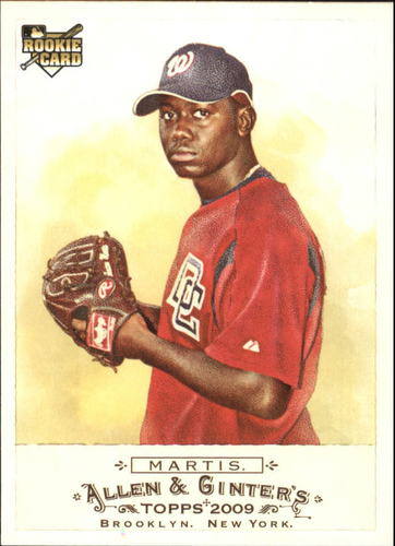 Photo of 2009 Topps Allen and Ginter #299 Shairon Martis RC
