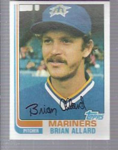 Photo of 1982 Topps #283 Brian Allard