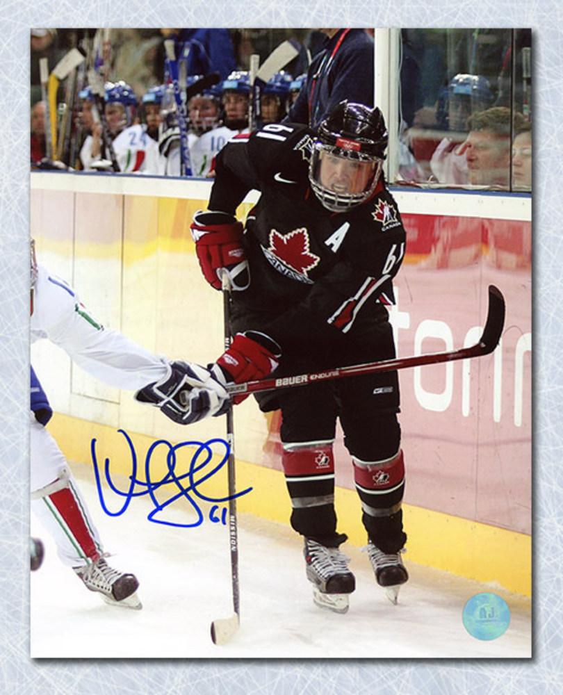 Vicky Sunohara Team Canada Autographed Olympic Hockey 8x10 Photo