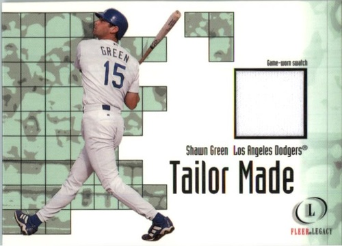 Photo of 2001 Fleer Legacy Tailor Made #9 Shawn Green
