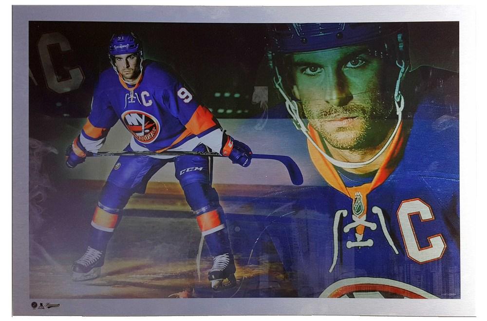 John Tavares - Metal Print New York Islanders Collage