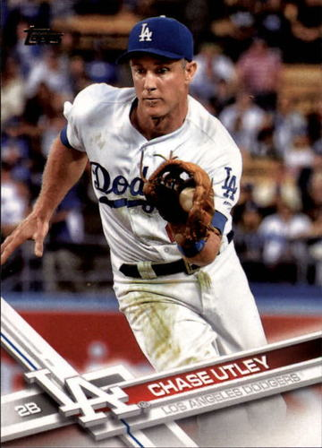 Photo of 2017 Topps #134 Chase Utley