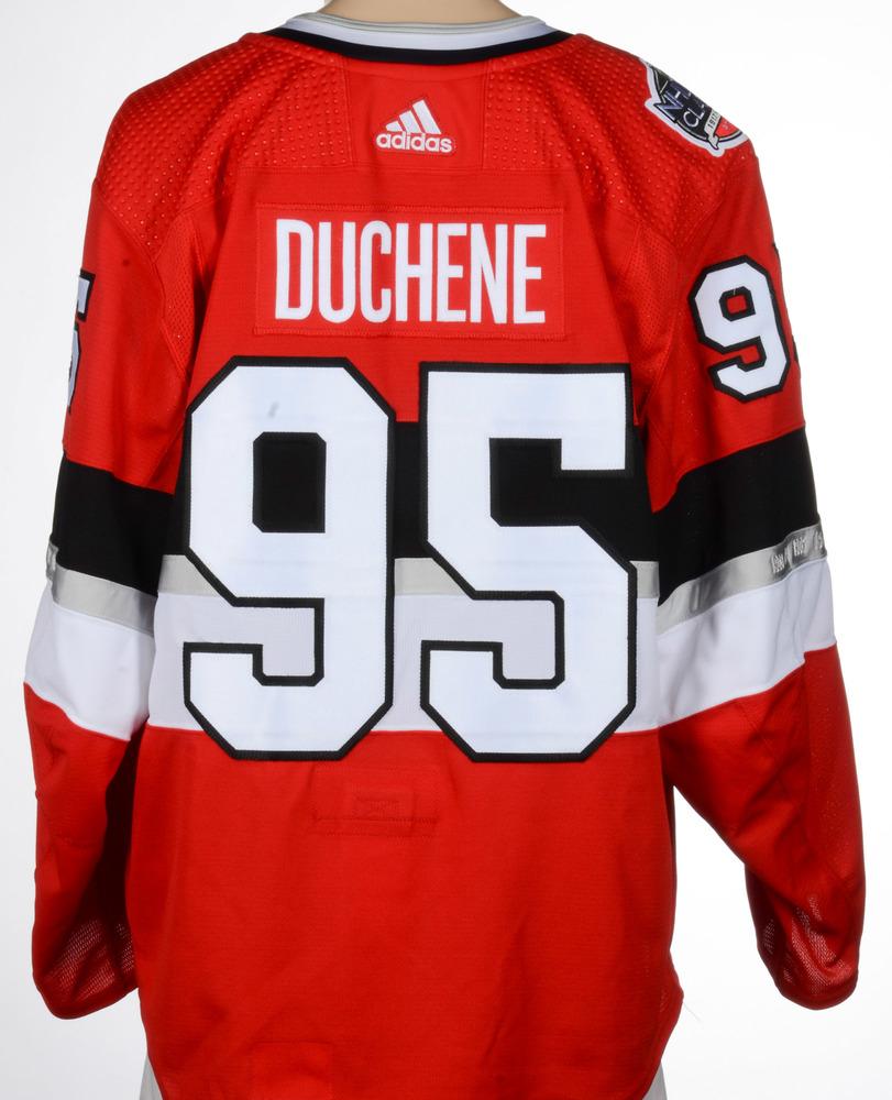 171baa12e Matt Duchene Ottawa Senators Game-Worn 2017 NHL100 Classic Jersey ...