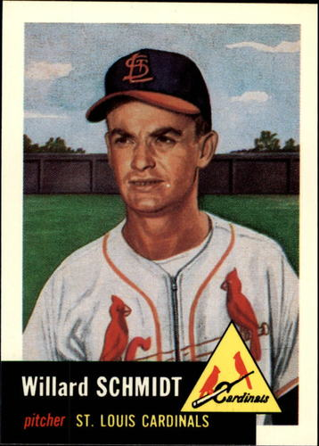 Photo of 1991 Topps Archives 1953 #168 Willard Schmidt