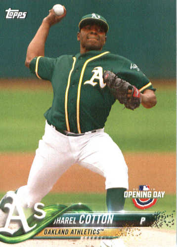 Photo of 2018 Topps Opening Day #77 Jharel Cotton