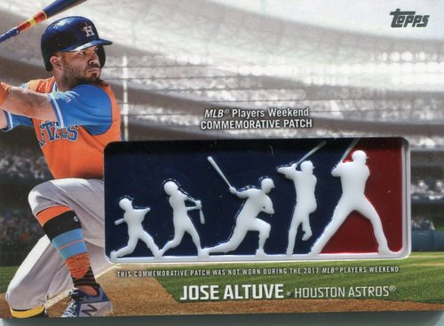 Photo of 2018 Topps Players Weekend Patches #PWPJA Jose Altuve