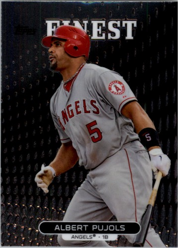 Photo of 2013 Finest #61 Albert Pujols