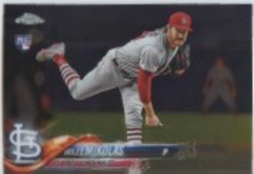 Photo of 2018 Topps Chrome Update #HMT7 Miles Mikolas RC