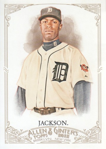 Photo of 2012 Topps Allen and Ginter #238 Austin Jackson