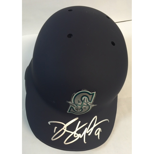 Photo of Dee Gordon Autographed Mariners Batting Helmet
