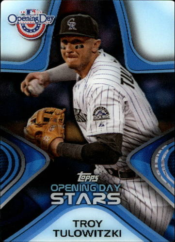 Photo of 2014 Topps Opening Day Stars #ODS9 Troy Tulowitzki