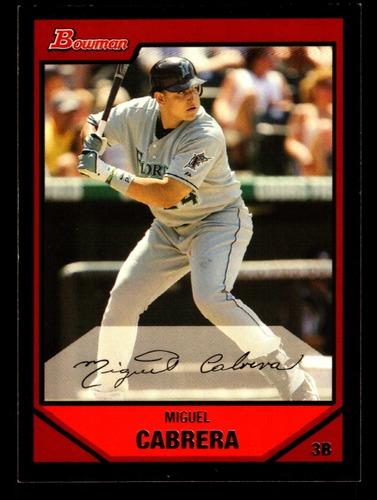 Photo of 2007 Bowman #45 Miguel Cabrera