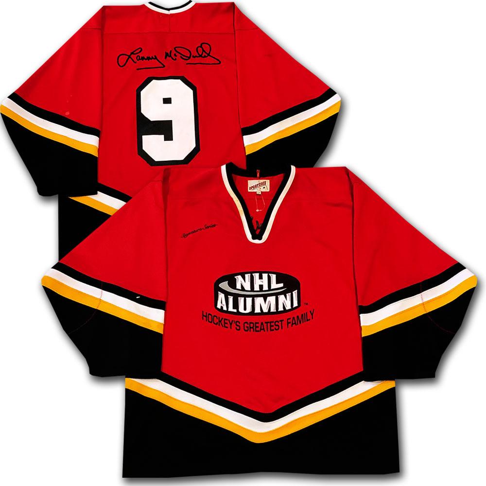 Lanny McDonald NHL Alumni Jersey - 2011 Alumni Man of the Year