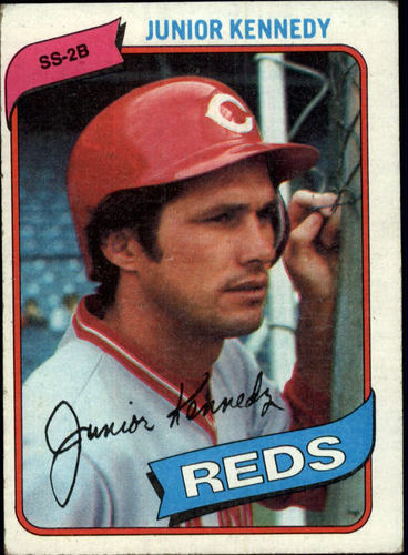 Photo of 1980 Topps #377 Junior Kennedy