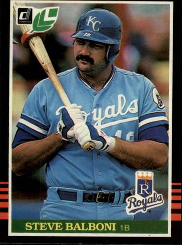 Photo of 1985 Leaf/Donruss #95 Steve Balboni